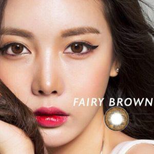 Kính áp tròng màu nâu Fairy Brown